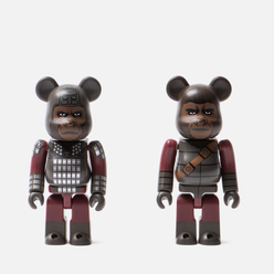 Игрушка Medicom Toy Bearbrick General Ursus & Soldier Ape 2-Pack 100%