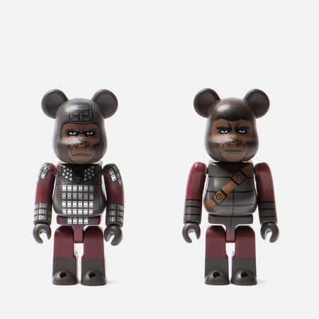 Игрушка Medicom Toy Bearbrick General Ursus & Soldier Ape 2-Pack 100%