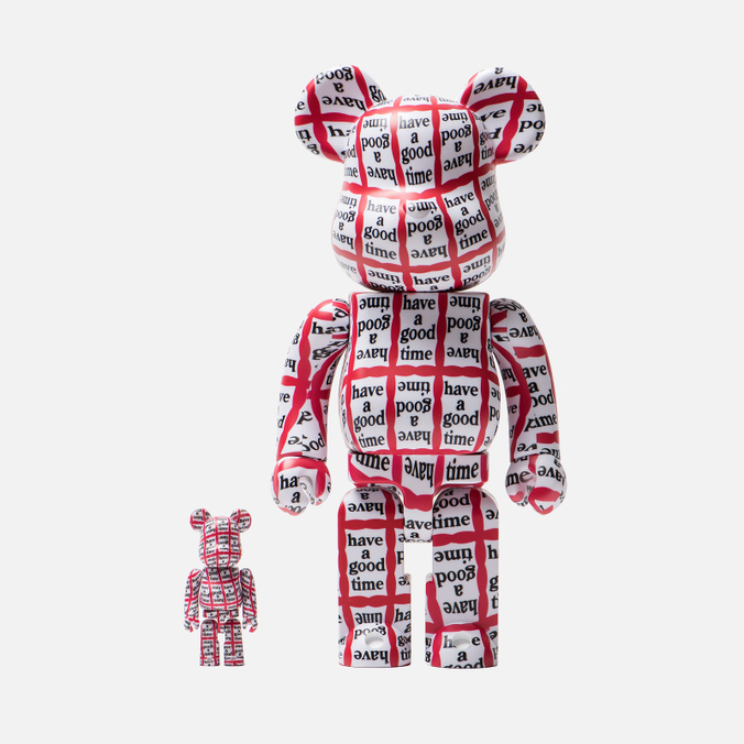 Игрушка Medicom Toy Bearbrick Have A Good Time 100% & 400%
