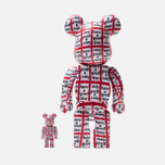 Игрушка Medicom Toy Bearbrick Have A Good Time 100% & 400% фото- 2