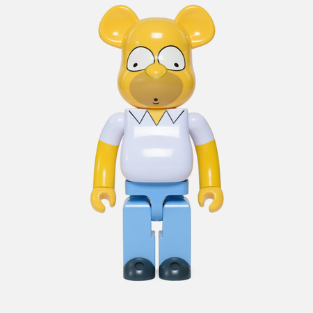 Игрушка Medicom Toy Bearbrick Homer Simpson 1000%