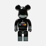 Игрушка Medicom Toy Bearbrick I Am Other Black 400% фото- 2