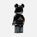 Игрушка Medicom Toy Bearbrick I Am Other Black 400% фото- 1