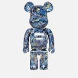 Игрушка Medicom Toy Bearbrick Jackson Pollock Studio 1000% фото- 0