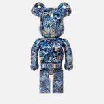 Игрушка Medicom Toy Bearbrick Jackson Pollock Studio 1000% фото- 2
