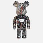 Игрушка Medicom Toy Bearbrick Jackson Pollock Ver. 2.0 1000% фото- 0