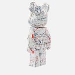 Игрушка Medicom Toy Bearbrick Jean-Michel Basquiat Ver. 2 1000% фото- 1