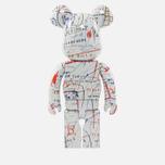 Игрушка Medicom Toy Bearbrick Jean-Michel Basquiat Ver. 2 1000% фото- 2