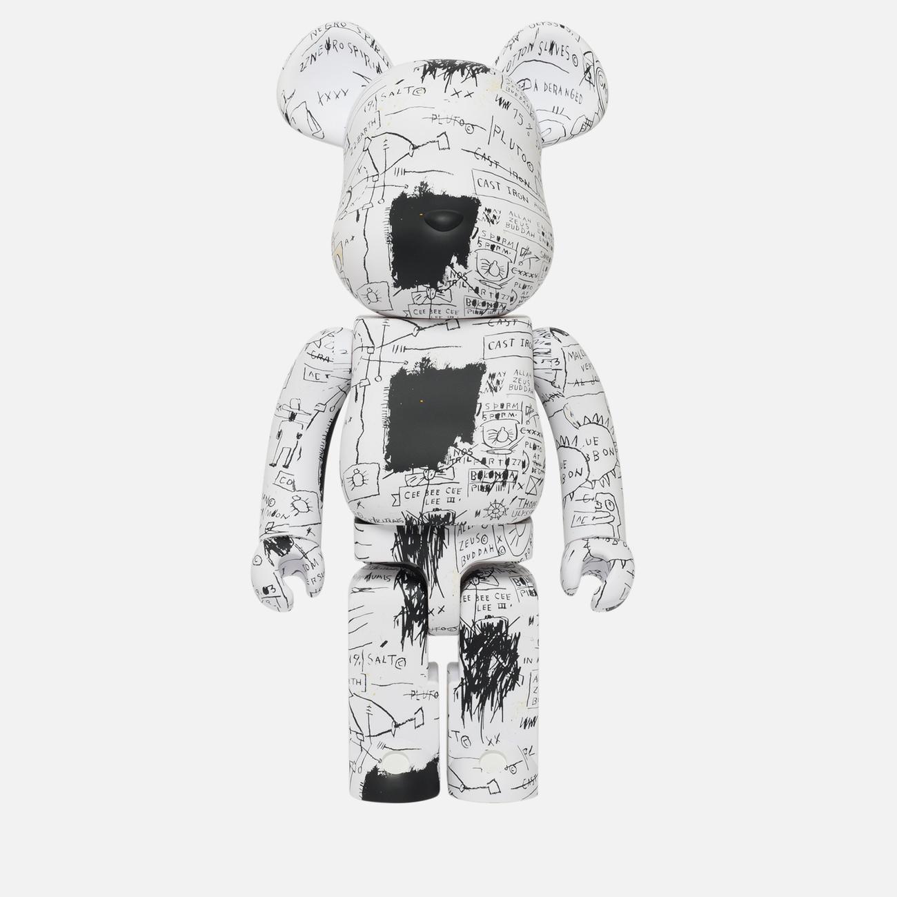 Игрушка Medicom Toy Bearbrick Jean-Michel Basquiat Ver. 3 1000%
