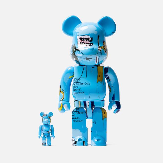 Игрушка Medicom Toy Bearbrick Jean-Michel Basquiat Ver. 4 100% & 400%