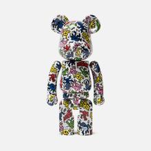 Игрушка Medicom Toy Bearbrick Super Alloyed Keith Haring 200% фото- 0