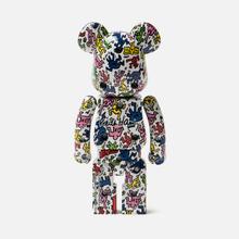 Игрушка Medicom Toy Bearbrick Super Alloyed Keith Haring 200% фото- 1