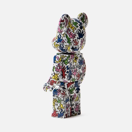 Игрушка Medicom Toy Bearbrick Super Alloyed Keith Haring 200%