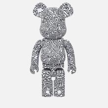 Игрушка Medicom Toy Bearbrick Keith Haring Ver. 4 1000% фото- 0