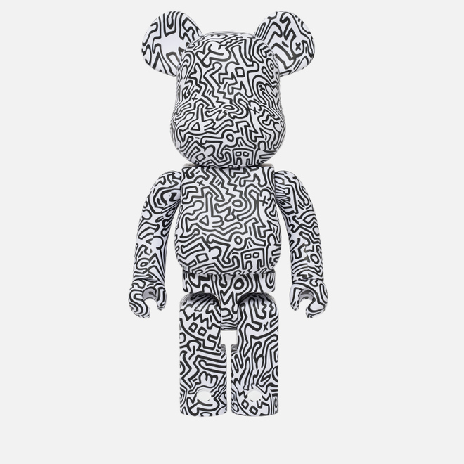 Игрушка Medicom Toy Bearbrick Keith Haring Ver. 4 1000%