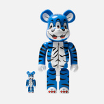 Игрушка Medicom Toy Bearbrick Kidill Bear 100% & 400% фото- 0