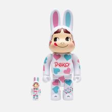 Игрушка Medicom Toy Bearbrick Kigurumi Pekochan Heart 100% & 400% фото- 0