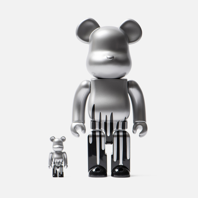 Игрушка Medicom Toy Bearbrick Krink Set 100% & 400%