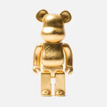 Игрушка Medicom Toy Bearbrick Kutani Kanazawa Gold Leaf 400% фото- 0