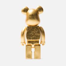 Игрушка Medicom Toy Bearbrick Kutani Kanazawa Gold Leaf 400% фото- 2