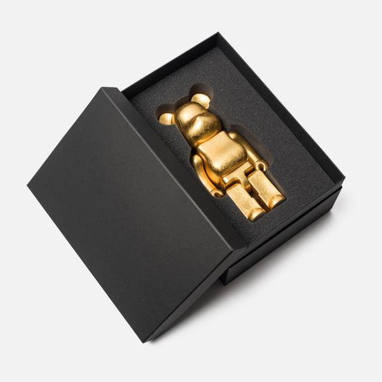 Игрушка Medicom Toy Bearbrick Kutani Kanazawa Gold Leaf 400%