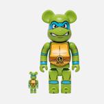 Игрушка Medicom Toy Bearbrick Leonardo Set 100% & 400% фото- 0