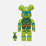 Игрушка Medicom Toy Bearbrick Leonardo Set 100% & 400% фото- 1