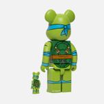 Игрушка Medicom Toy Bearbrick Leonardo Set 100% & 400% фото- 2
