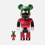 Игрушка Medicom Toy Bearbrick Marvin The Martian 100% & 400% фото- 0