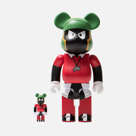 Игрушка Medicom Toy Bearbrick Marvin The Martian 100% & 400%