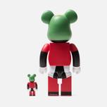 Игрушка Medicom Toy Bearbrick Marvin The Martian 100% & 400% фото- 2