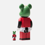 Игрушка Medicom Toy Bearbrick Marvin The Martian 100% & 400% фото- 1
