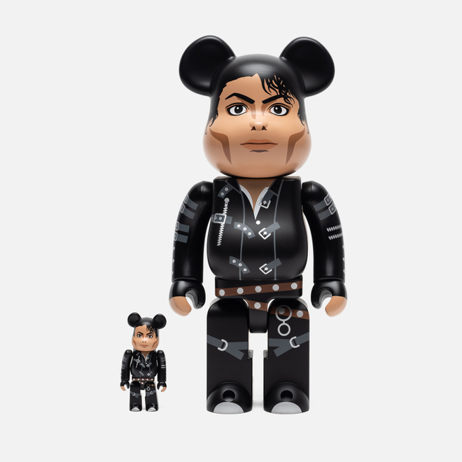 Игрушка Medicom Toy Bearbrick Michael Jackson Bad 100% & 400%