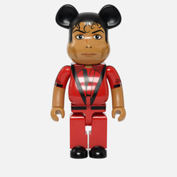 Игрушка Medicom Toy Bearbrick M Jackson Red Jacket 1000%