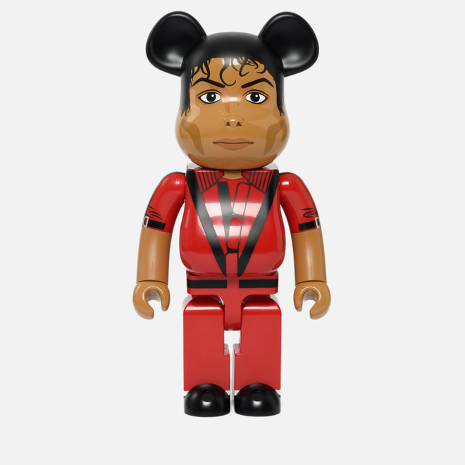 Игрушка Medicom Toy Bearbrick Michael Jackson Red Jacket 1000%