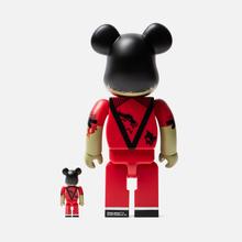 Игрушка Medicom Toy Bearbrick Michael Jackson Zombie 100% & 400% фото- 2