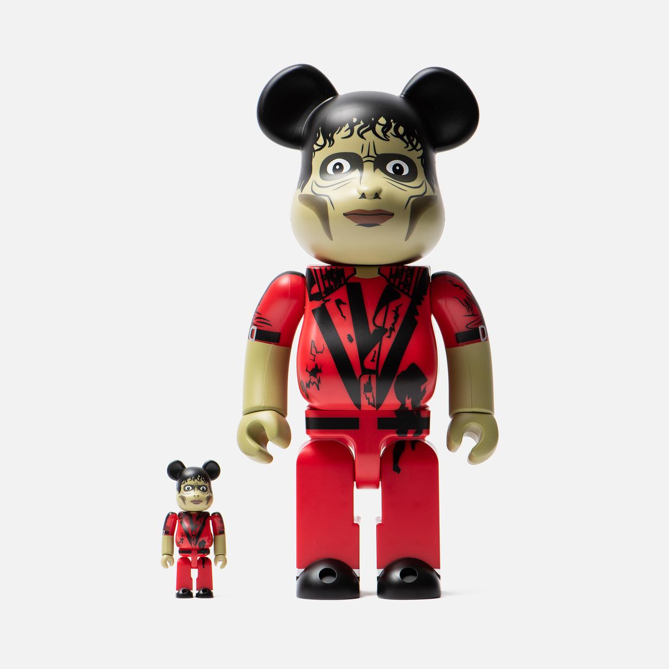 Игрушка Medicom Toy Bearbrick Michael Jackson Zombie 100% & 400%