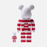 Игрушка Medicom Toy Bearbrick Mikey Flocky 100% & 400% фото- 2
