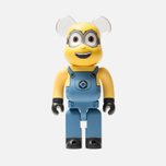 Игрушка Medicom Toy Bearbrick Minion Dave 400% фото- 0