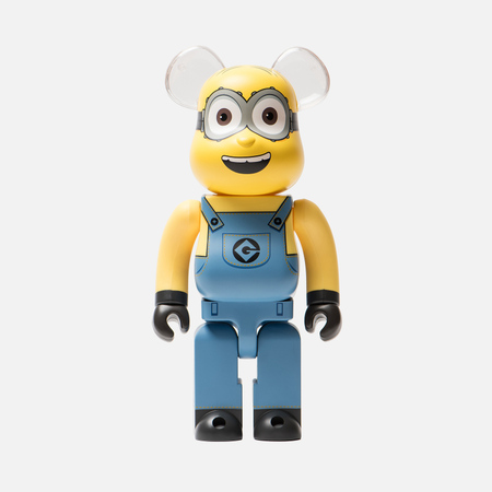 Игрушка Medicom Toy Bearbrick Minion Dave 400%
