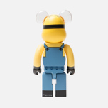 Игрушка Medicom Toy Bearbrick Minion Dave 400% фото- 2