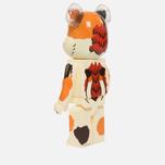 Игрушка Medicom Toy Bearbrick Negora 1000% фото- 1