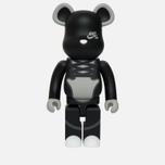 Игрушка Medicom Toy Bearbrick Nike SB Black 1000% фото- 0