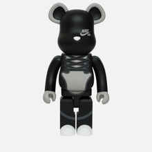 Игрушка Medicom Toy Bearbrick Nike SB Black 1000% фото- 0