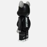 Игрушка Medicom Toy Bearbrick Nike SB Black 1000% фото- 1