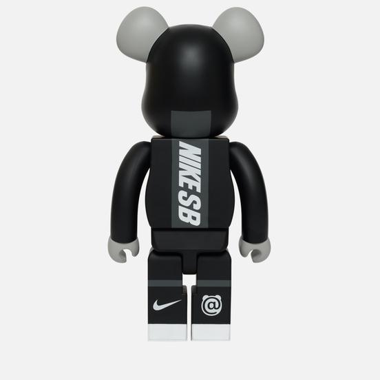 Игрушка Medicom Toy Bearbrick Nike SB Black 1000%