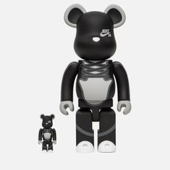 Игрушка Medicom Toy Bearbrick Nike SB Set 100% & 400%