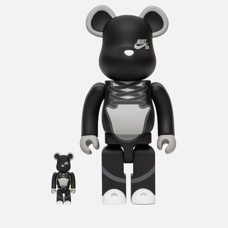 Игрушка Medicom Toy Bearbrick Nike SB Set 100% & 400%