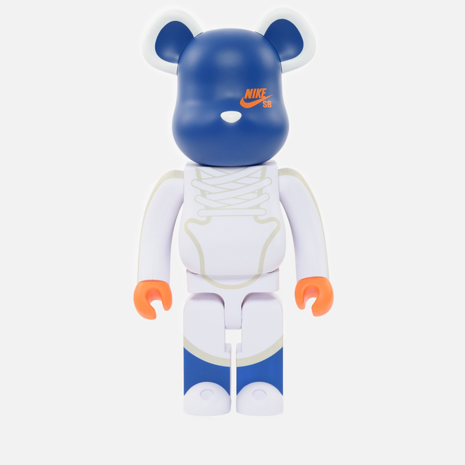 Игрушка Medicom Toy Bearbrick Nike SB White 1000%