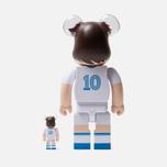 Игрушка Medicom Toy Bearbrick Ohzora Tsubasa 100% & 400% фото- 2